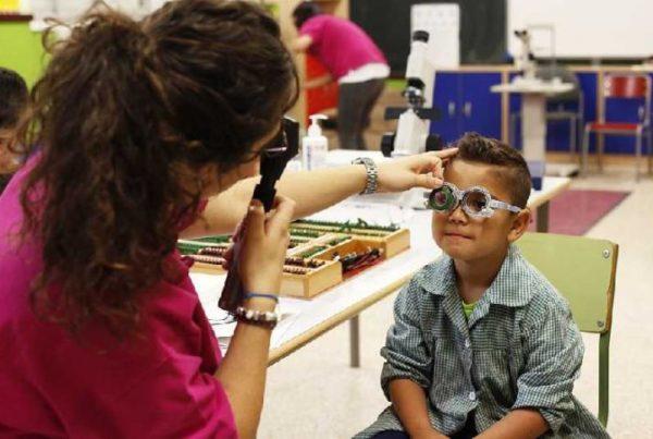 protección ojos niños