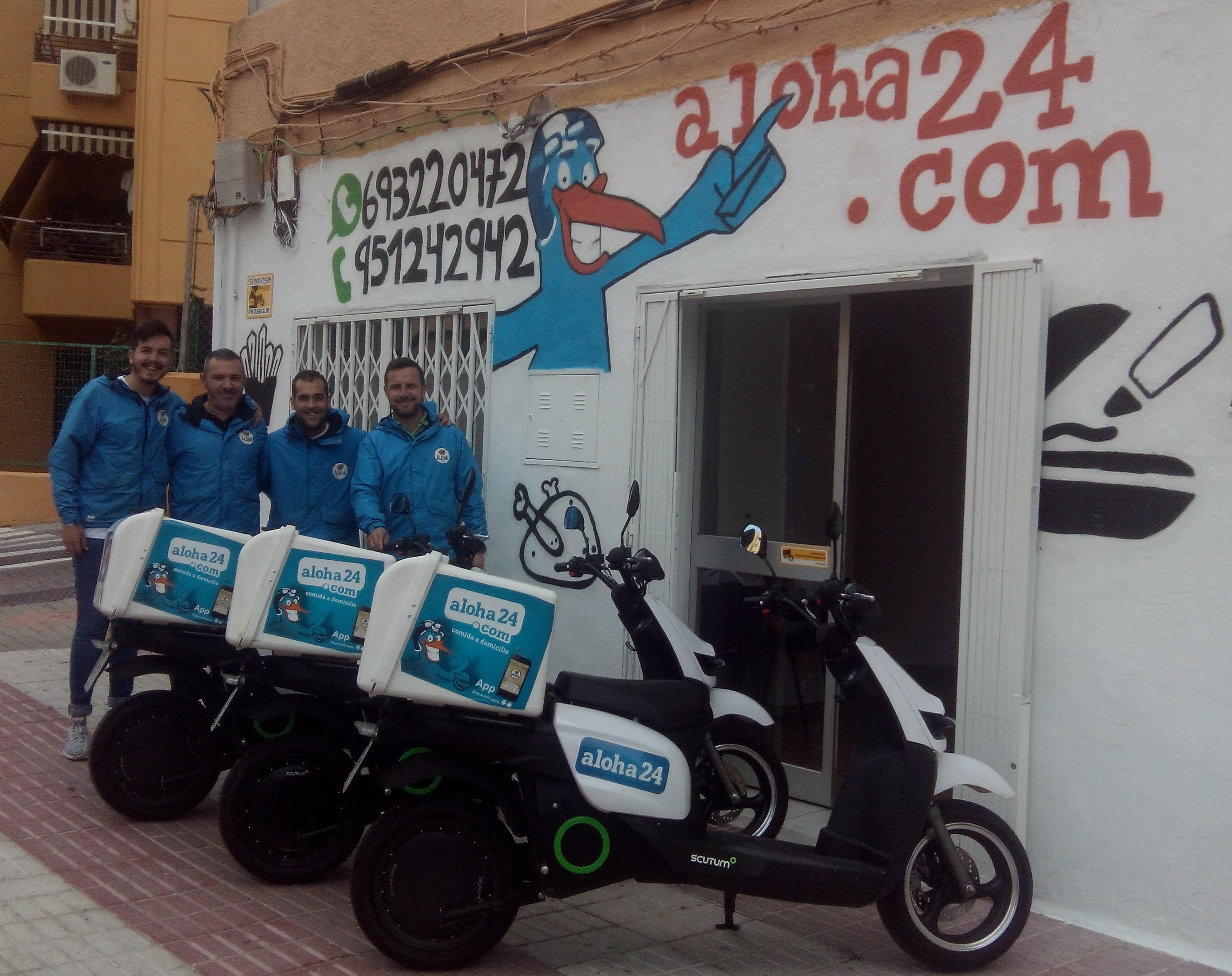 Aloha24 renueva su flota en Marbella con motos eléctricas