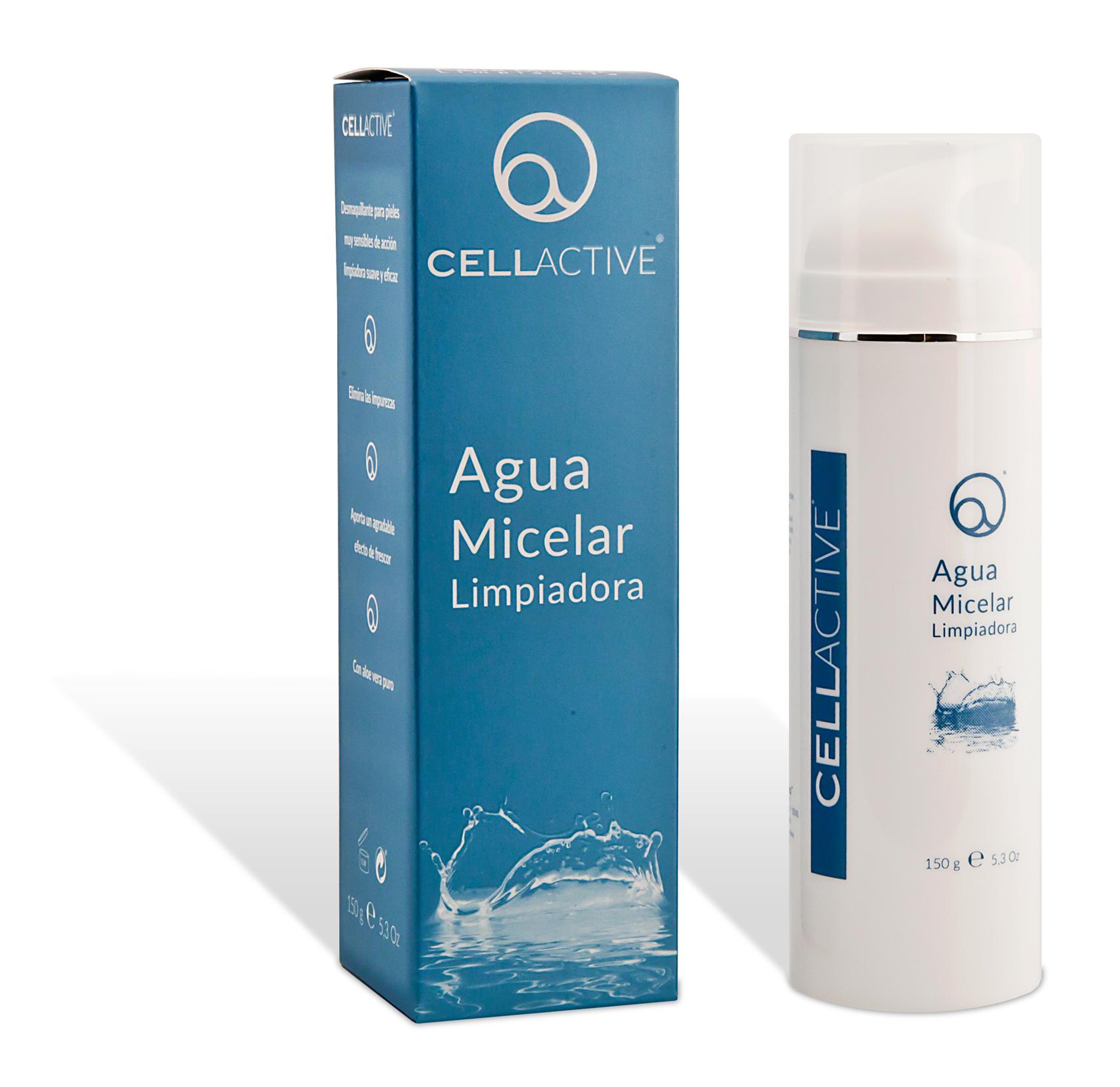 Renueva tu ritual desmaquillante con Agua Micelar CellActive