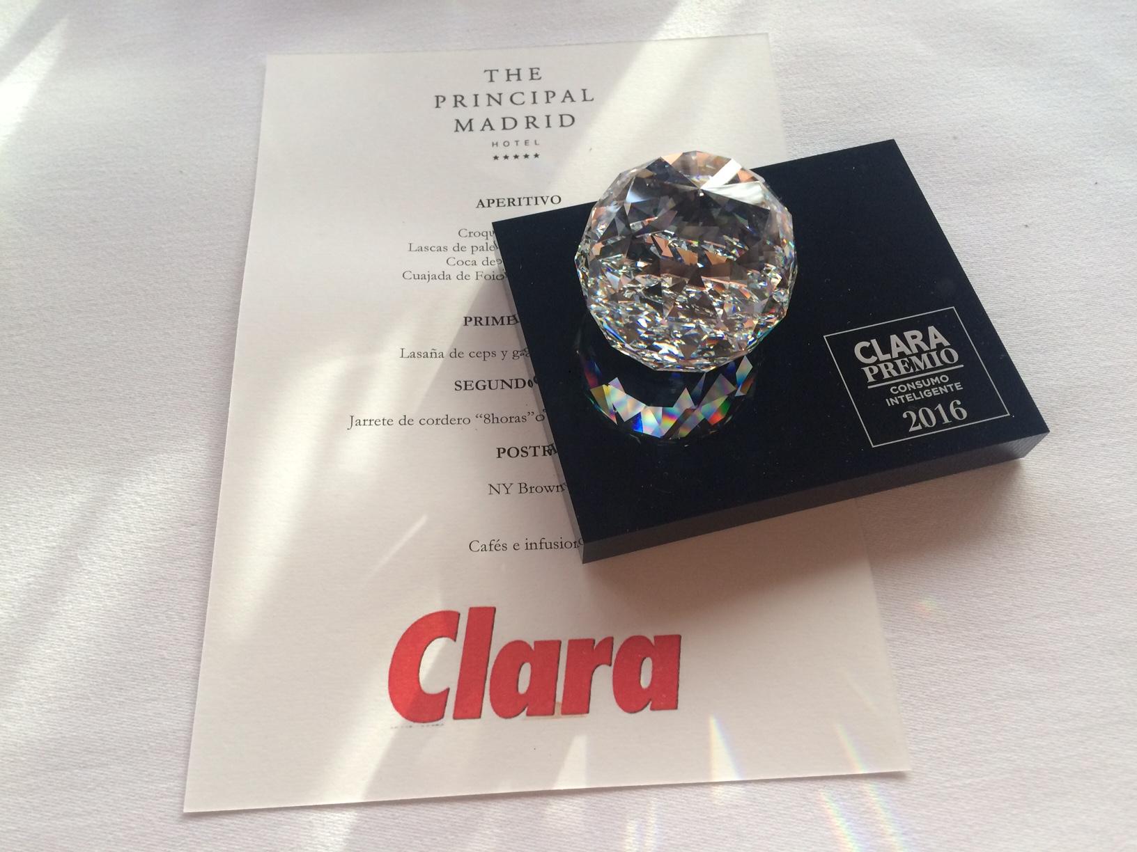 CellActive Anti-Celulítico Reafirmante recibe el Premio CLARA como Producto Más Eficaz