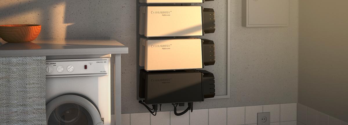 """La batería inteligente Solarwatt MyReserve Matrix reconocida como """"Producto del año 2018"""""""