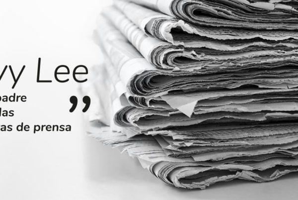 ivy lee el padre de las notas de prensa
