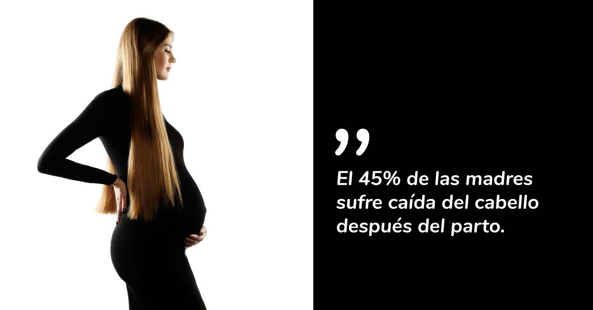 El 45% de las madres sufre caída del cabello después del parto