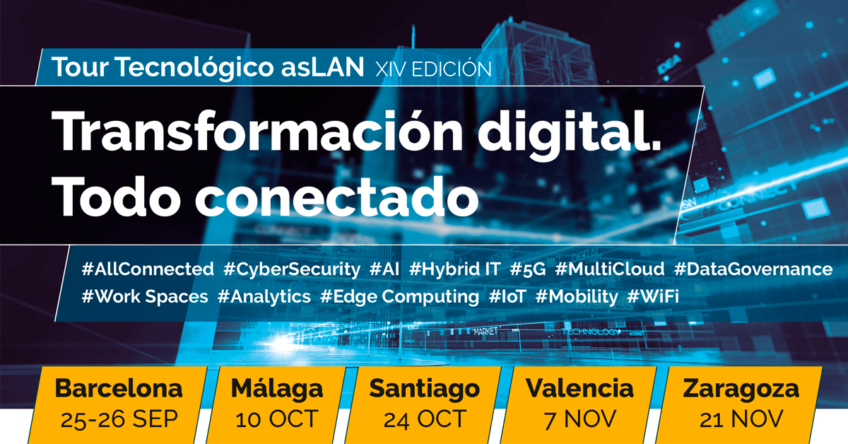 Gigaset presentará en el tour ASLAN sus innovaciones en telefonía y transformación digital