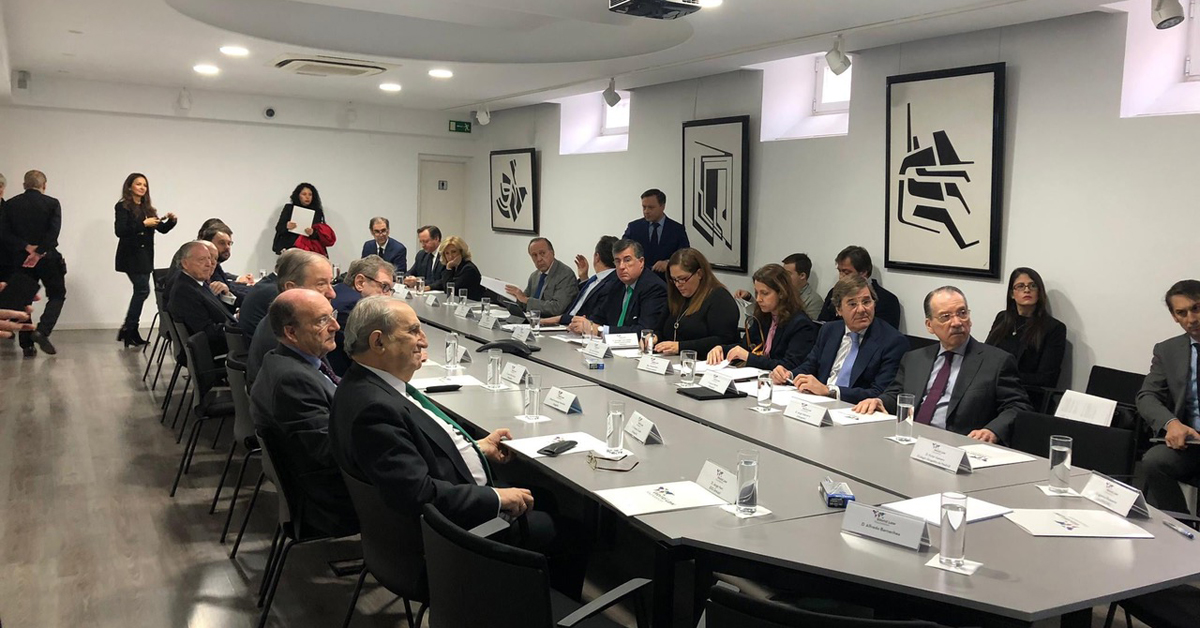 Asistimos a la primera sesión del Patronato de la World Law Foundation celebrada en la Embajada de Colombia