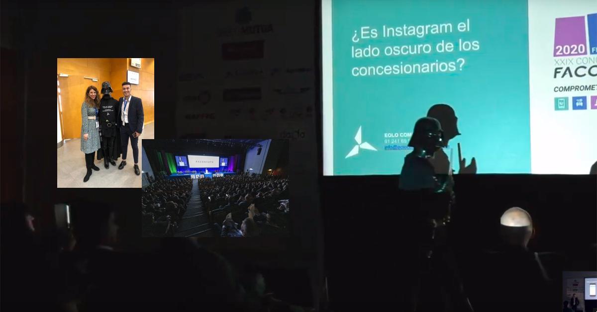 WorkShop de Eolo Comunicación en el congreso de Faconauto