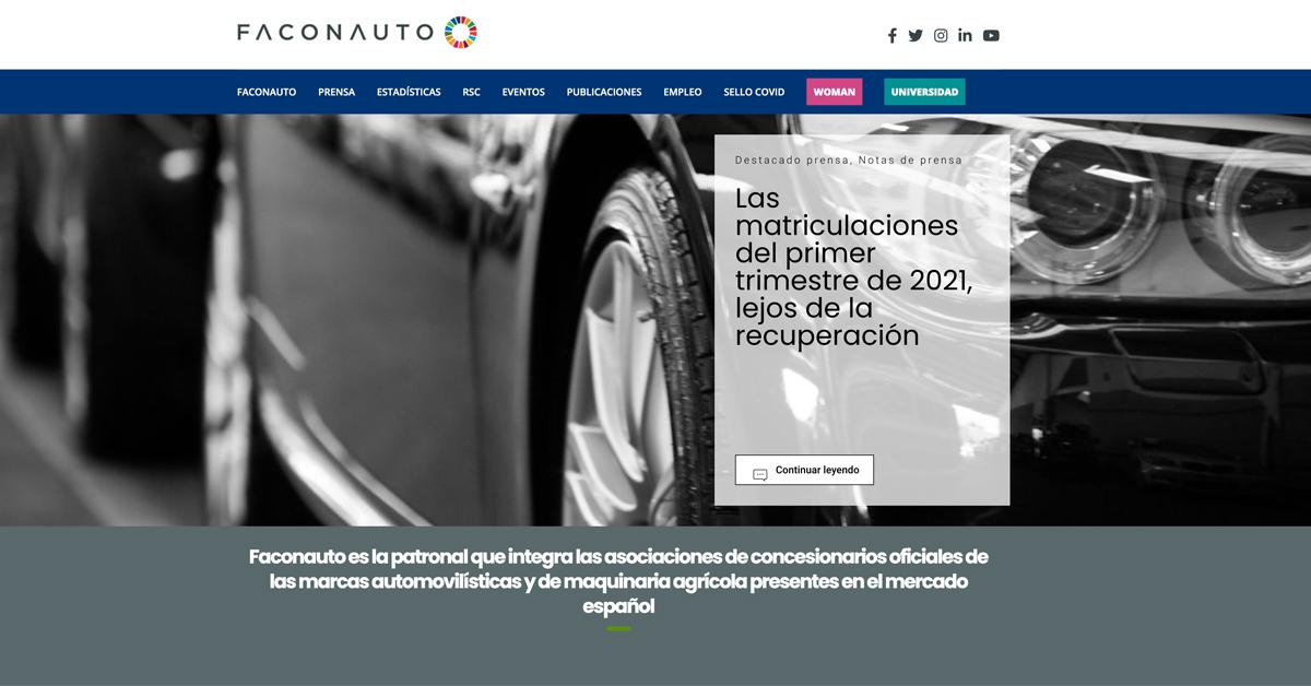 Faconauto, entre las 10 mejores asociaciones empresariales con mejor comunicación digital