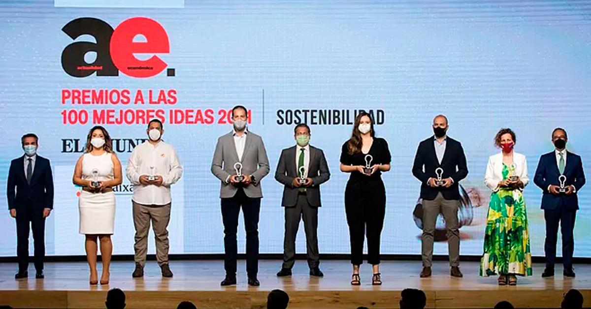 Amavir y Help Flash entre los premiados como las 100 Mejores Ideas del año por Actualidad Económica